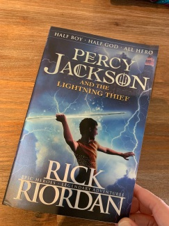 """Percy Jackson And The Lightning Thief"" by Rick Riordan"